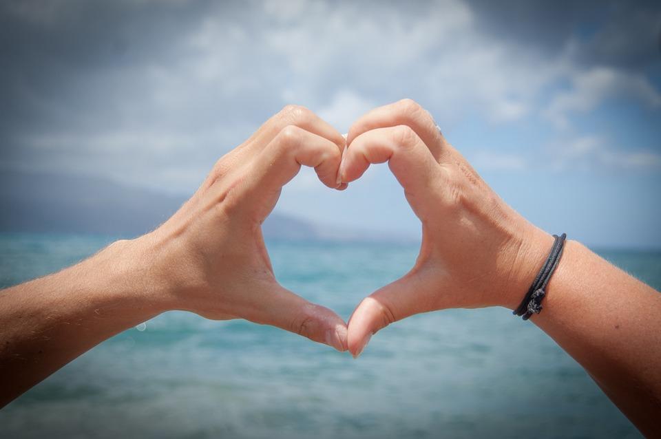 signe physique amoureux