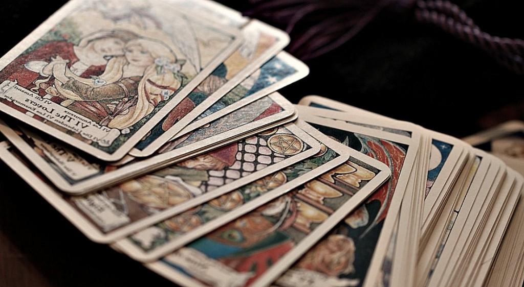 Cartes de tarot.